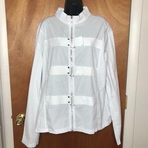 Lip Service Mens White Straight Jacket Size L XL 2XL Mr. Mental Insane Asylum